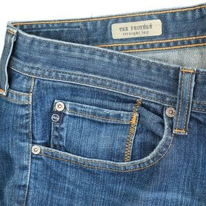 AG Adriano Goldschmied The Protege Dark Wash Jeans